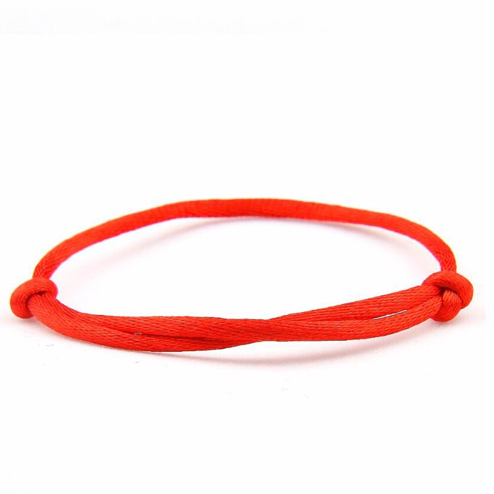 red string bracelet adjustable a
