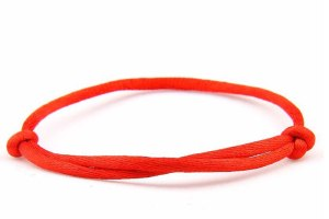 red string bracelet adjustable a