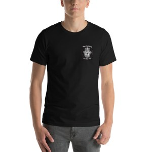 Hamsa May The Mazel Be With You Short-Sleeve Unisex T-Shirt