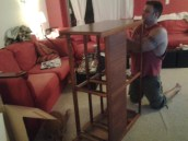 Assembling the dresser