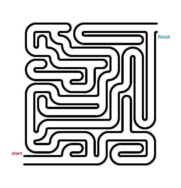easy maze colouring pages pictures to pin on pinterest