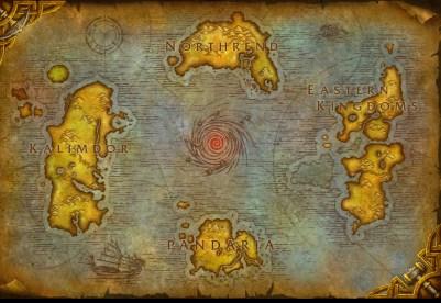 1. Mapa del mundo