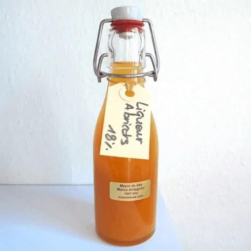 Liqueur abricot Liqueurs abricot