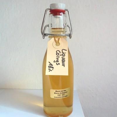 mazot de vex liqueur coing artisanale