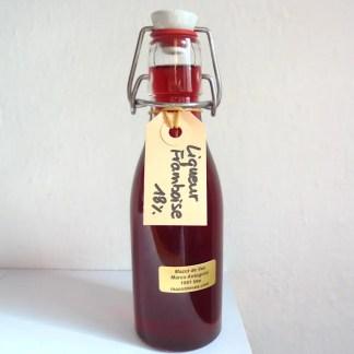mazot de vex liqueur framboise artisanale