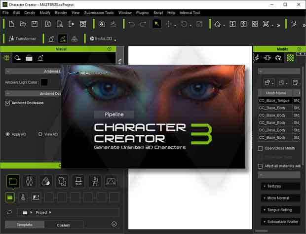 Reallusion Character Creator Crack With Serial key Download