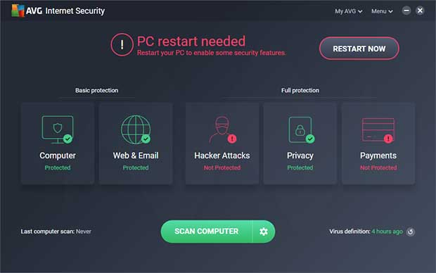 AVG Internet Security 2019 Registration key Download