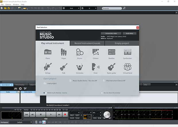 MAGIX Samplitude Music Studio Crack + Serial Key