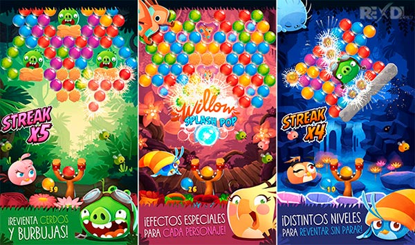 Angry Birds POP Bubble Shooter Apk Mod Free Download