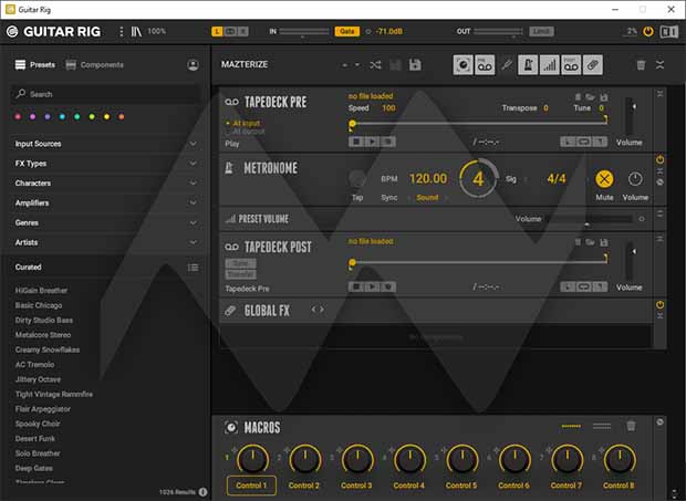 Native Instruments Guitar Rig Crack With Patch