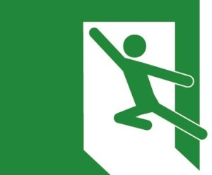 イグジット様ロゴ緑
