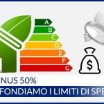 Ecobonus 50% infissi: tutti i limiti di spesa per la detrazione fiscale!