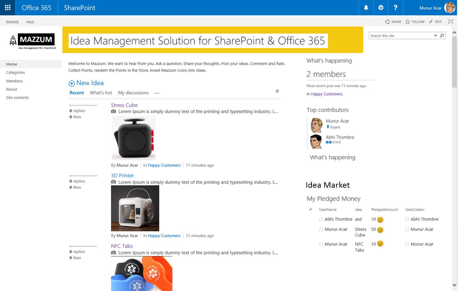 Office 365 Sharepoint Website Templates Funfndroid