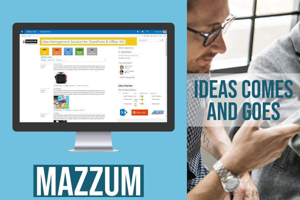 Mazzum Dashboard Main