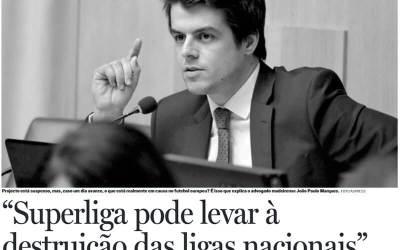 João Paulo Marques em entrevista ao DN Madeira sobre a Superliga