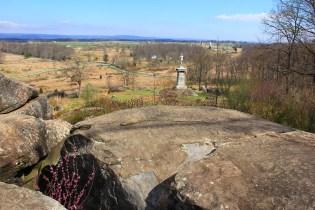Little Round Top Summit - Gettysburg