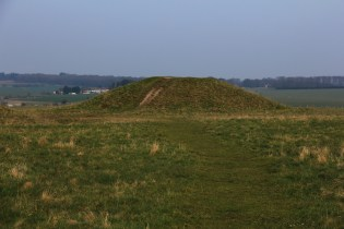 Mound by Stonehenge