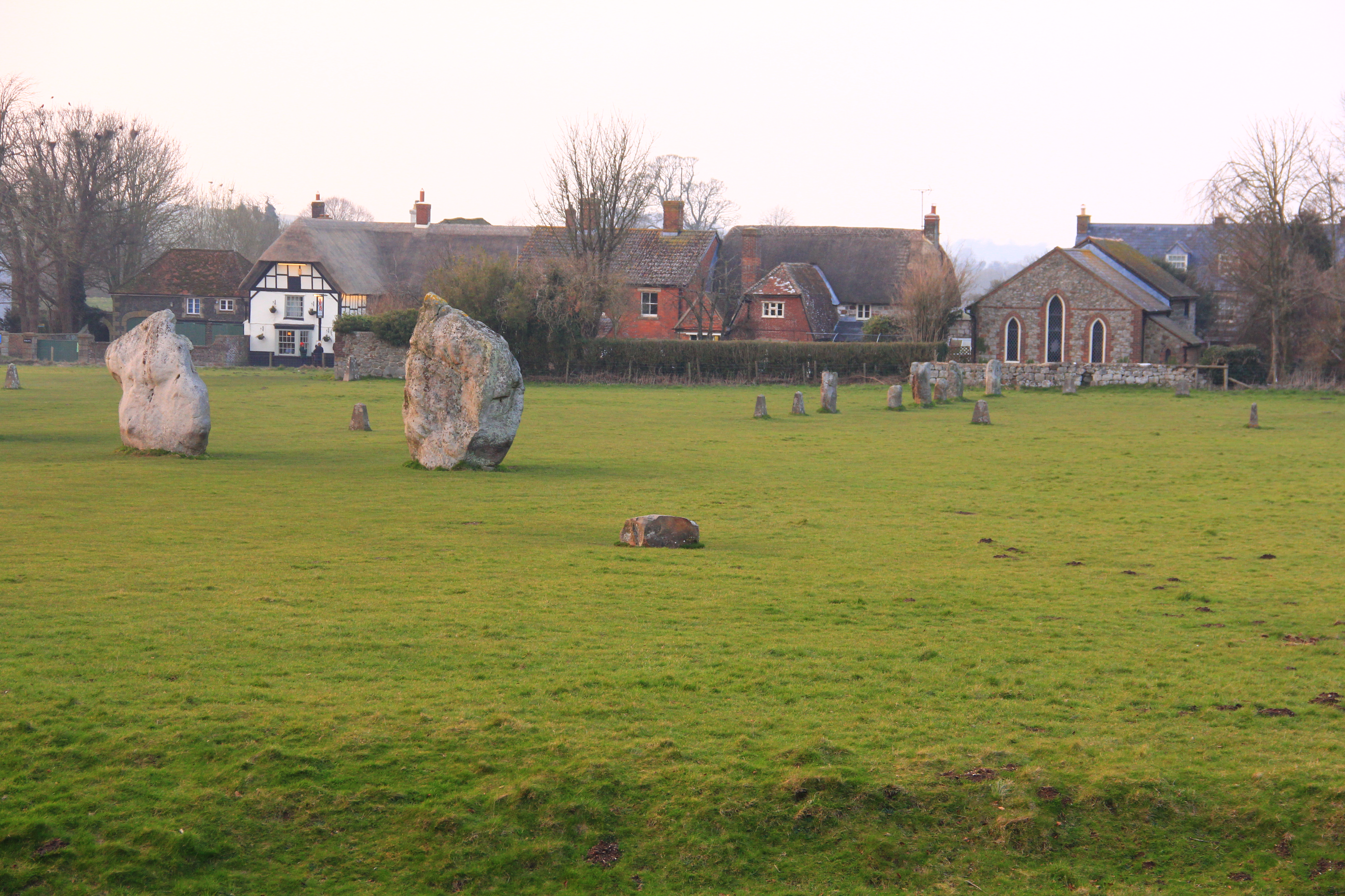 Village in English Countryside