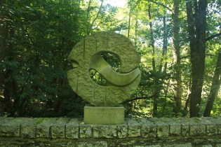 Peace Memorial at Hurtgen Forest Battlefield
