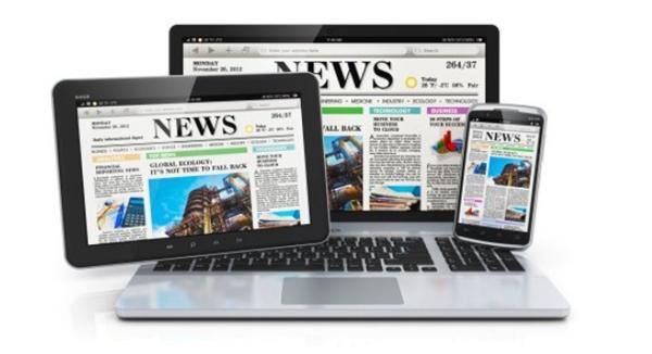 Les medias digitaux - medias en ligne - media sur internet