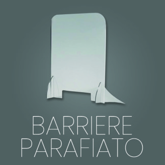 Barriere parafiato in materiale plastico