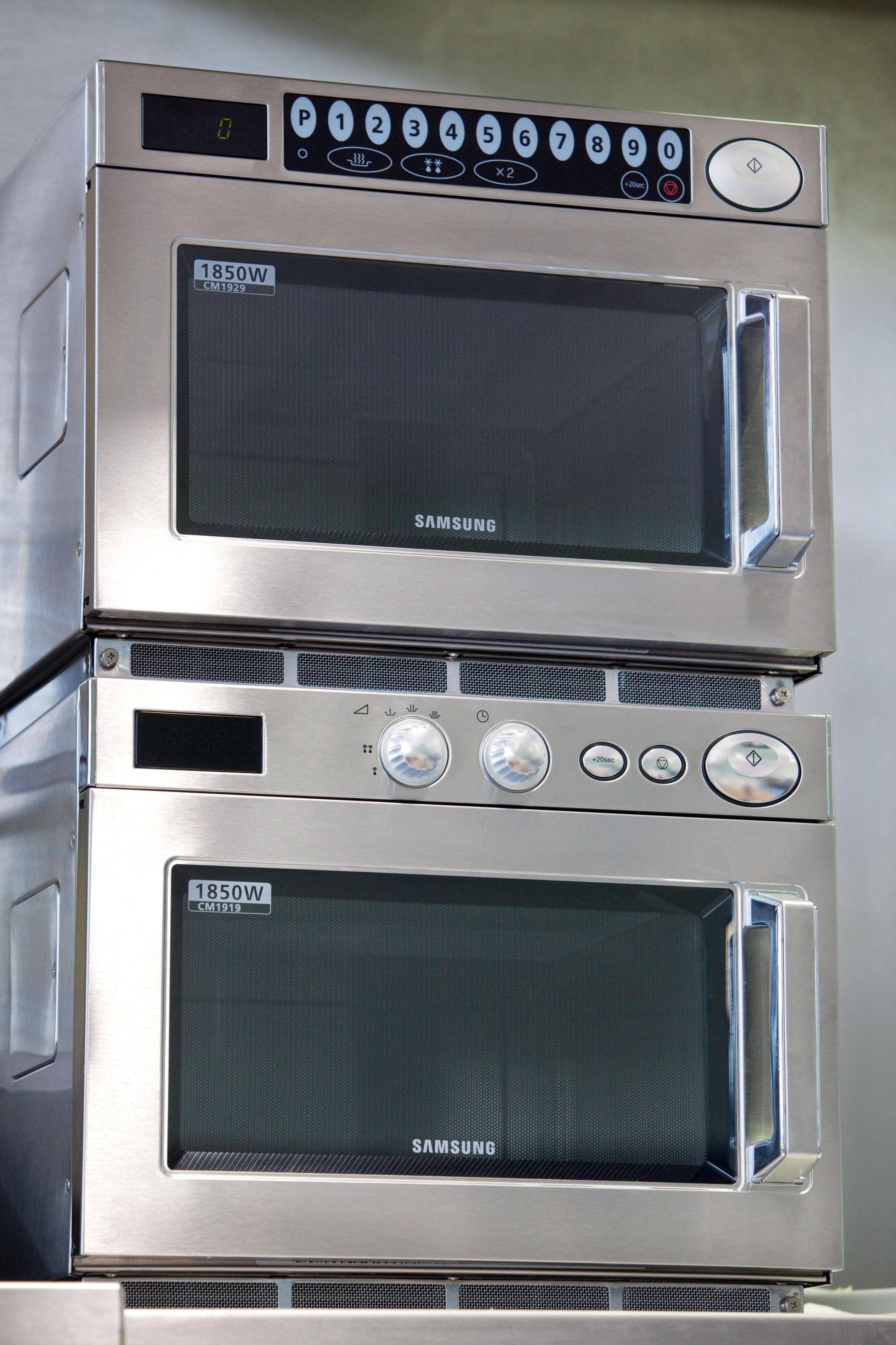 samsung heavy duty commercial microwave