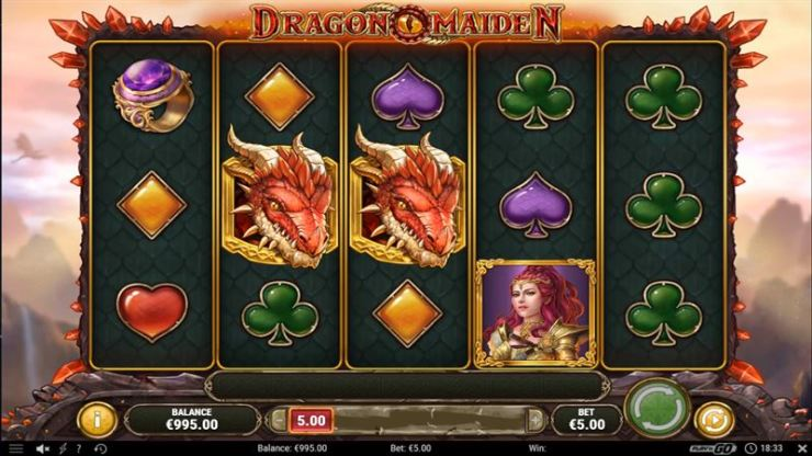 Dragon Maiden Screenshot