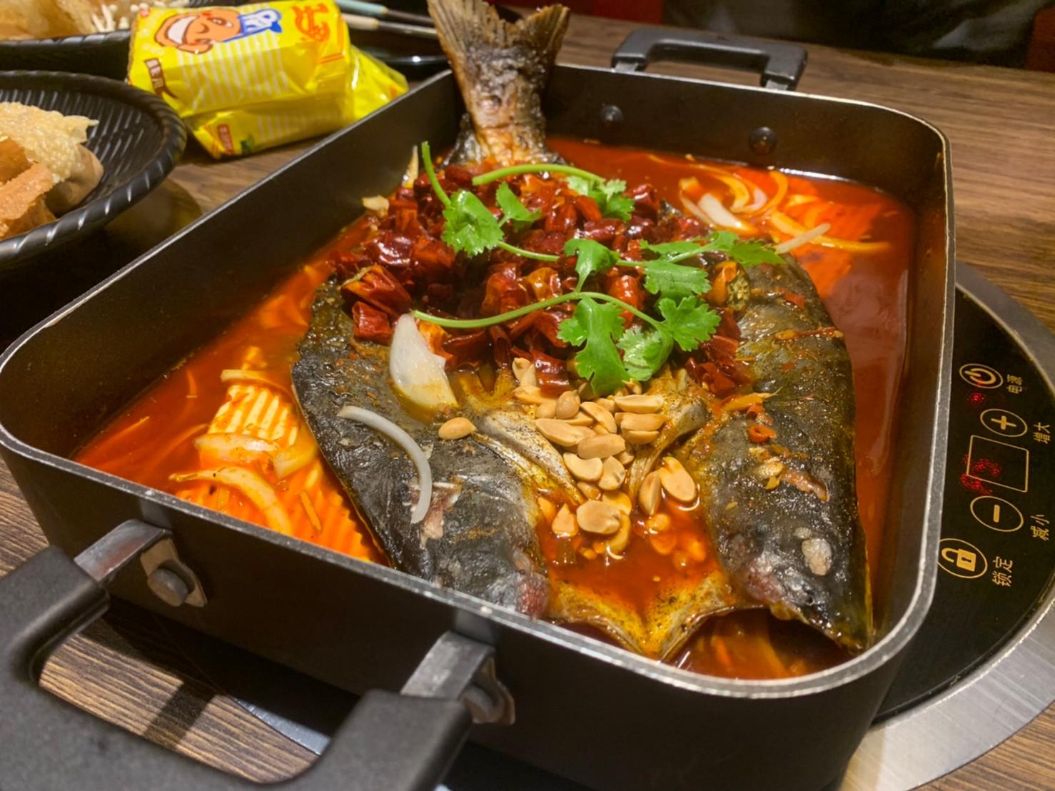 桃園。億魚麻辣鍋 | 重慶烤魚 | 中壢晚餐