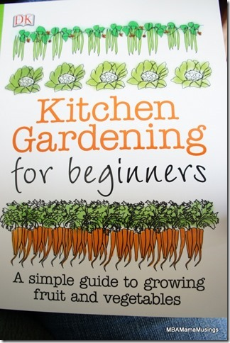 Cover of Kitchen Gardening for Beginners book from DK Books