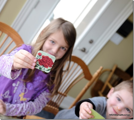 Red Rose Card from Grow a Garden Memory Game