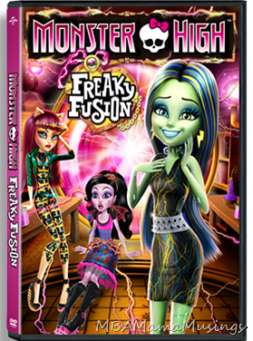 Monster High Freaky Fusion DVD