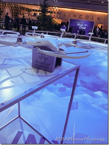 DroneCast at Ford NAIAS