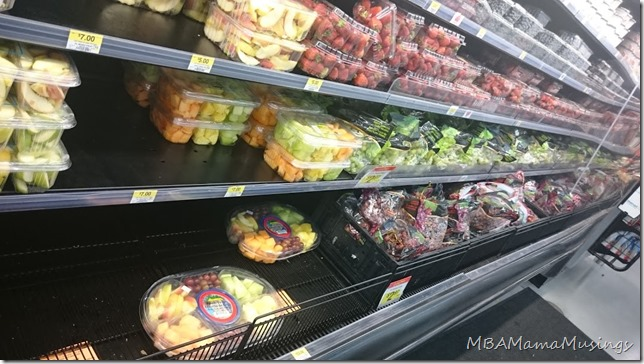 Prepared Fruits and Vegetables At Walmart Canada