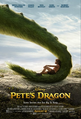 Pete's Dragon Walt Disney Poster