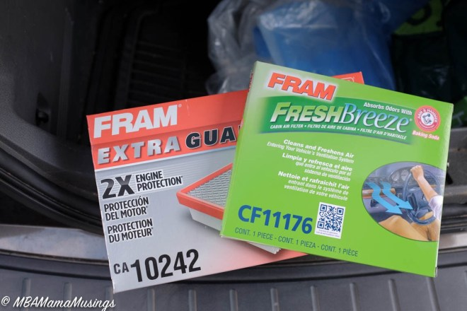 FRAM Fresh Breeze Cabin Filter and Air Filter for Ford Flex