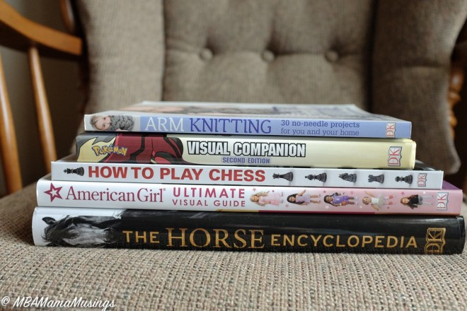 DK Canada Christmas Book Prize Pack Arm Knitting Pokemon How to Play Chess American Girl Horse Encyclopedia