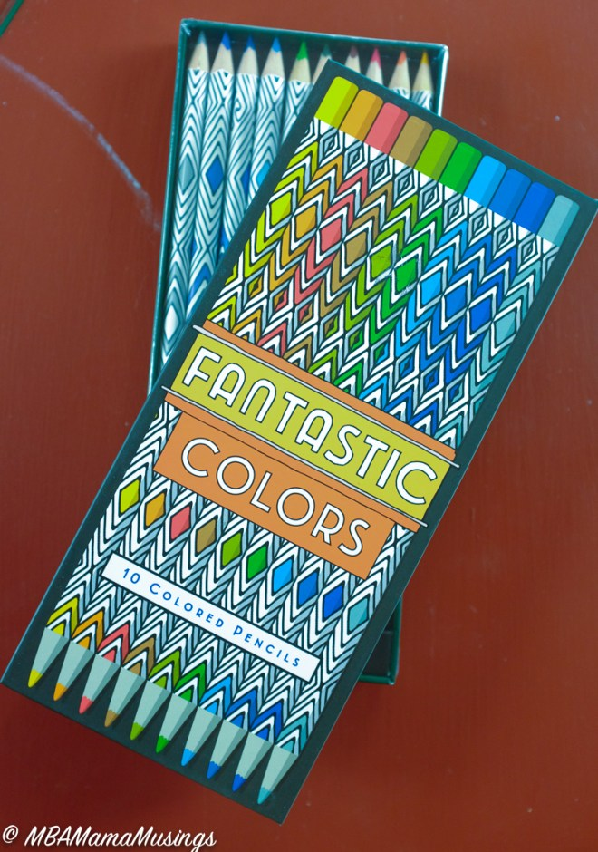 Adult Colouring Pencils