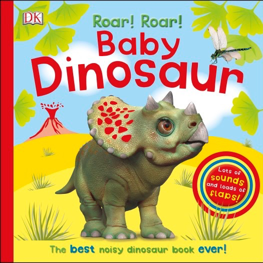 Roar Roar Baby Dinosaur DK Books Books for Toddlers