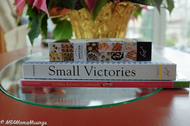 Books for Foodies Small Victories Cookie Advent CookBook Appetizer Ideabook Raincoast Books