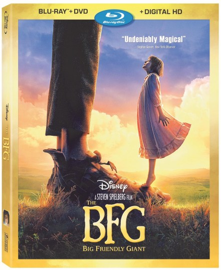 The BFG Big Friendly Giant Blu-Ray DVD