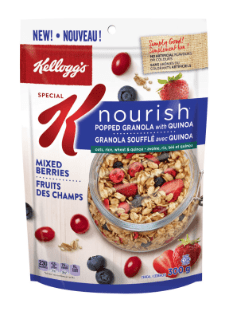 Special K Nourish Popped Granola with Quinoa Mixed Berries