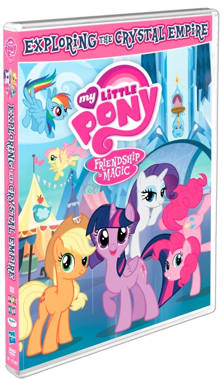 My Little Pony Exploring The Crystal Empire DVD