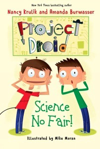 Project Droid STEM novel Family Day