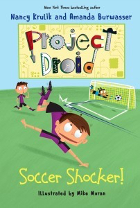 Project Droid STEM novel #FamilyDay