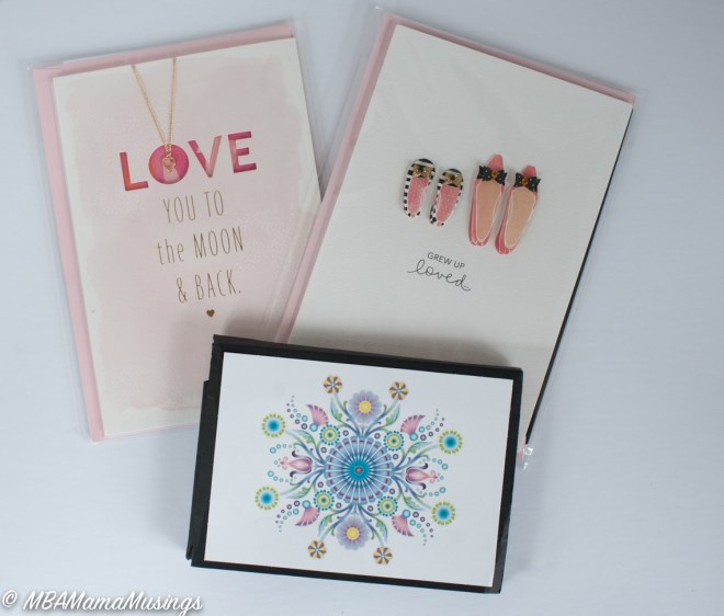Hallmark Mother's Day Cards Jewellery Cards Stationery
