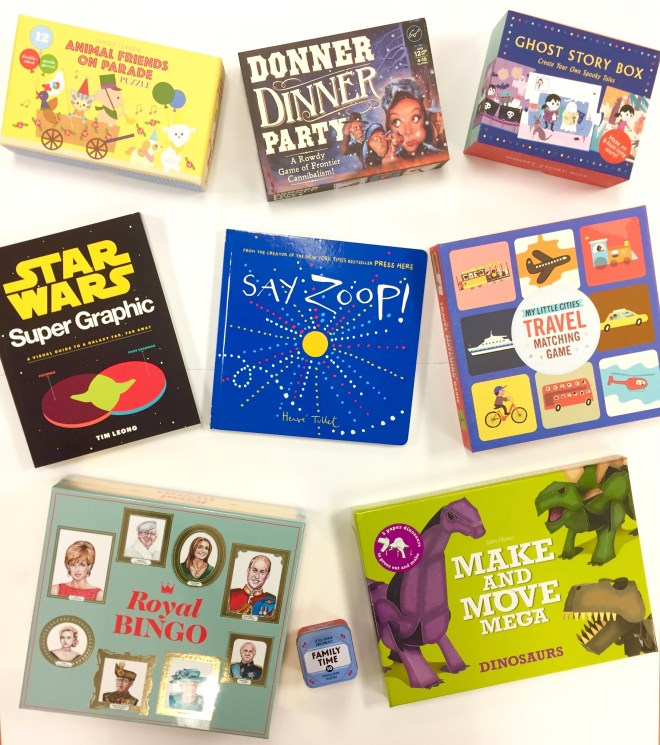 Raincoast Books #PlayTestShare Fall 2017 Paper Dinosaurs Star Wars Infographics Animal Puzzles