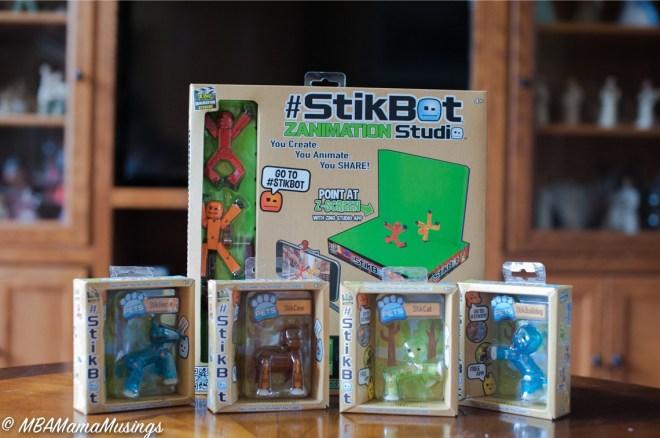StikBot Zanimation Studio and StikBot Pets