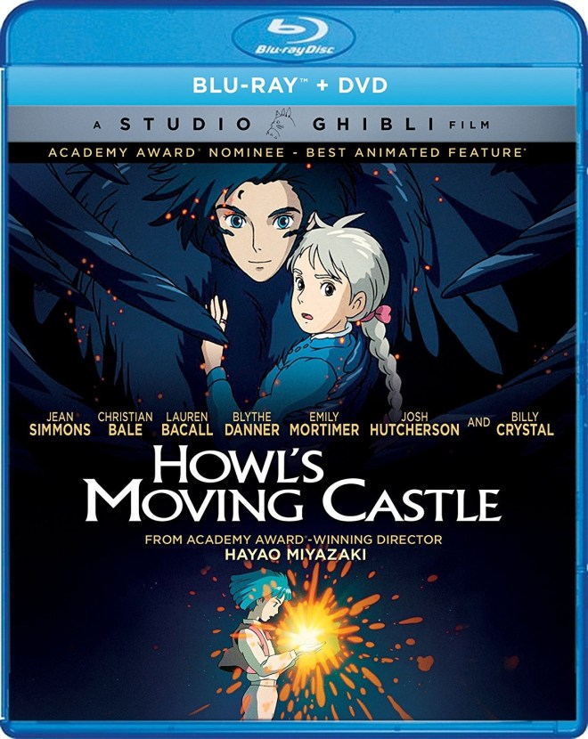 Howl's Moving Castle Christian Bale Lauren Bacall Billy Crystal Studio Ghibli