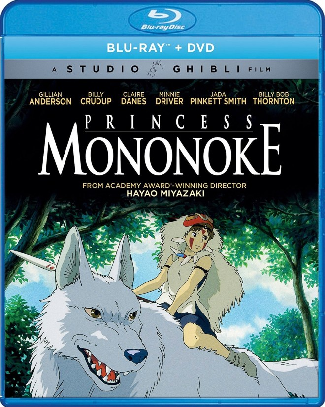 Princess Mononoke Anime Gillian Anderson Claire Danes Jada Pinkett Smith Billy Bob Thornton Studio Ghibli
