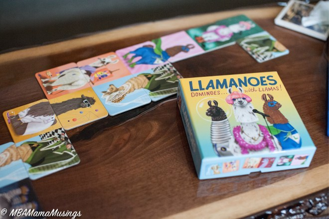 Llamanoes Llama Dominos Travel Game Spring Break Games
